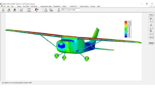 Cessna 182 CFD Analysis